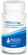 Image of Biotics Research - DHEA 5 mg. - 60 Capsules