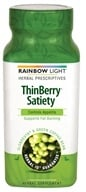 Image of Rainbow Light - ThinBerry Satiety Appetite Control with Slendesta & Green Coffee Bean - 60 Vegetarian Capsules