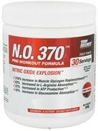 Top Secret Nutrition - N.O. 370 Pre-Workout Formula Fruit Punch - 300 Grams, from category: Sports Nutrition