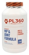 PL360 - Arthogen Hip & Joint Formula For Dogs Beef & Cheese Flavored - 250 Chewable Tablets