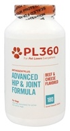 PL360 - Arthogen Plus Advanced Hip & Joint Formula For Dogs Beef & Cheese Flavored - 180 Chewable Tablets