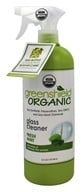 Green Shield Organic - USDA Certified Glass Cleaner Fresh Scent - 32 oz.