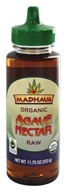 Image of Madhava Natural Sweeteners - Agave Nectar Raw - 11.75 oz.