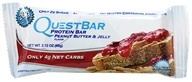 Image of Quest Nutrition - Quest Bar Protein Bar Peanut Butter & Jelly - 2.12 oz.