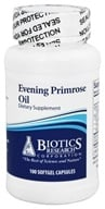 Image of Biotics Research - Evening Primrose Oil - 100 Capsules
