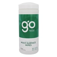 Multi-Surface Wipes Fresh Mint - 35 Wipe(s) by GO by greenshield organic