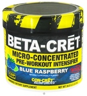 Promera Health - Beta-Cret Micro-Concentrated Pre-Workout Intensifier - 8 Servings Blue Raspberry - 1.22 oz. CLEARANCE PRICED by Promera Health