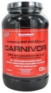 MuscleMeds - Carnivor Bioengineered Beef Protein Isolate Chocolate - 2.3 lbs. - $30.99