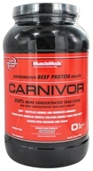 MuscleMeds - Carnivor Bioengineered Beef Protein Isolate Chocolate - 2.3 lbs. by MuscleMeds