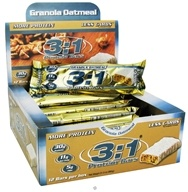 MetraGenix - 3:1 Protein Bar Low Carb Granola Oatmeal - 2.61 oz.