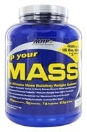 MHP - Up Your Mass Vanilla - 5 lbs., from category: Sports Nutrition