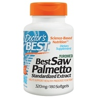 Doctor's Best - Best Saw Palmetto Extract 320 mg. - 180 Softgels