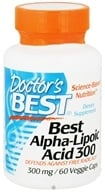 Doctor's Best - Best Alpha Lipoic Acid 300 mg. - 60 Vegetarian Capsules (753950002760)