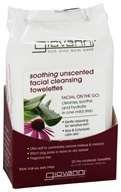 Giovanni - Facial Cleansing Towelettes Soothing Unscented - 30 Towelette(s) by Giovanni