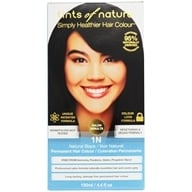 Tints Of Nature - Conditioning Permanent Hair Color 1N Natural Black - 4.4 oz. by Tints Of Nature