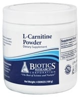 Biotics Research - L-Carnitine Powder - 100 Grams by Biotics Research