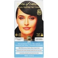 Tints Of Nature - Conditioning Permanent Hair Color 2N Natural Darkest Brown - 4.4 oz. (704326100207)