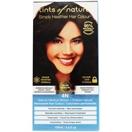 Tints Of Nature - Conditioning Permanent Hair Color 4N Natural Medium Brown - 4.4 oz. by Tints Of Nature