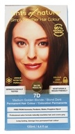 Image of Tints Of Nature - Conditioning Permanent Hair Color 7D Medium Golden Blonde - 4.4 oz.