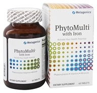 Metagenics - PhytoMulti with Iron - 60 Tablets - $36.95
