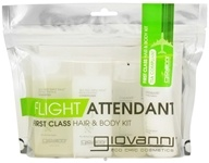Image of Giovanni - Flight Attendant First Class Hair & Body Kit Invigorating Tea Tree Triple Treat & Cucumber Song - 4 Piece(s)
