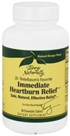 EuroPharma - Terry Naturally Immediate Heartburn Relief - 50 Chewable Tablets