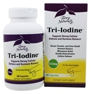 EuroPharma - Terry Naturally Tri-Iodine 12.5 mg. - 180 Capsules by EuroPharma