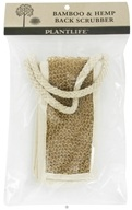 Plantlife Natural Body Care - Bamboo & Hemp Back Scrubber
