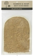 Plantlife Natural Body Care - Bamboo & Hemp Mitt Scrubber