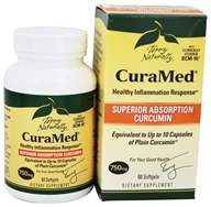 EuroPharma - Terry Naturally CuraMed with BCM-95 750 mg. - 60 Softgels by EuroPharma
