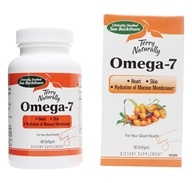 EuroPharma - Terry Naturally Omega-7 1000 mg. - 60 Softgels