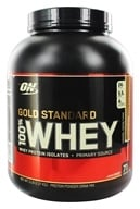 Image of Optimum Nutrition - 100% Whey Gold Standard Protein Caramel Toffee Fudge - 5 lbs.