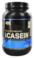 Optimum Nutrition - 100% Casein Gold Standard Blueberries & Cream - 2 lbs. (748927024555)