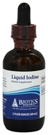 Biotics Research - Liquid Iodine - 2 oz., from category: Professional Supplements