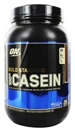 Optimum Nutrition - 100% Casein Gold Standard Chocolate Cake Batter - 2 lbs. (748927025262)