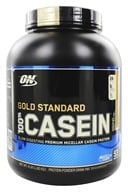 100% Casein Gold Standard Chocolate Peanut Butter - 4 lbs. by Optimum Nutrition