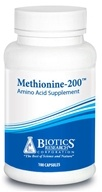 Biotics Research - Methionine 200 mg. - 100 Capsules, from category: Professional Supplements