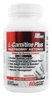 Image of Top Secret Nutrition - L-Carnitine Plus Raspberry Ketones Metabolic Enhancer - 60 Liquid Capsules