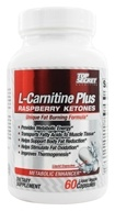 Top Secret Nutrition - L-Carnitine Plus Raspberry Ketones Metabolic Enhancer - 60 Liquid Capsules