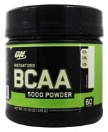 Optimum Nutrition - BCAA Powder Unflavored 60 Servings 5000 mg. - 345 Grams