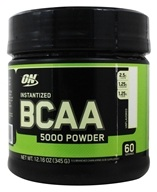 Optimum Nutrition - BCAA Powder 60 Servings Unflavored 5000 mg. - 345 Grams