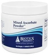 Biotics Research - Mixed Ascorbate Powder - 300 Grams