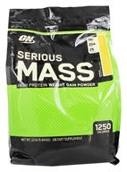 Optimum Nutrition - Serious Mass Banana - 12 lbs. - $50.36