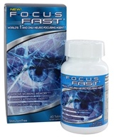 Enyotics Health Sciences - Focus Fast Neuro Focusing Agent - 40 Tablet(s)
