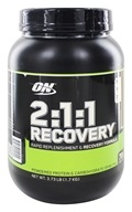 Optimum Nutrition - 2:1:1 Recovery Colossal Chocolate - 3.73 lbs.