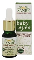 SanRe Organic Skinfood - Baby Eyes Age-Defying Night Eye Serum - 0.3 oz.
