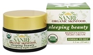 SanRe Organic Skinfood - Sleeping Beauty Rejuvenating Night Cream - 1.1 oz., from category: Personal Care