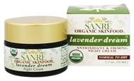 SanRe Organic Skinfood - Lavender Dream Night Cream - 1.1 oz.