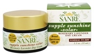 SanRe Organic Skinfood - Supple Sunshine-Solar Day Cream Rosemary Lavender 30 SPF - 1.1 oz. by SanRe Organic Skinfood