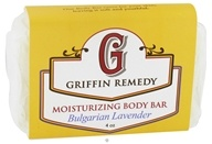 Image of Griffin Remedy - Moisturizing Body Bar Bulgarian Lavender - 4 oz.